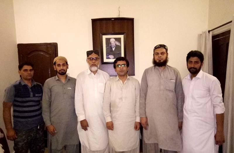 منصور اعوان خیبر پختون خواہ کا تنظیمی دورہ