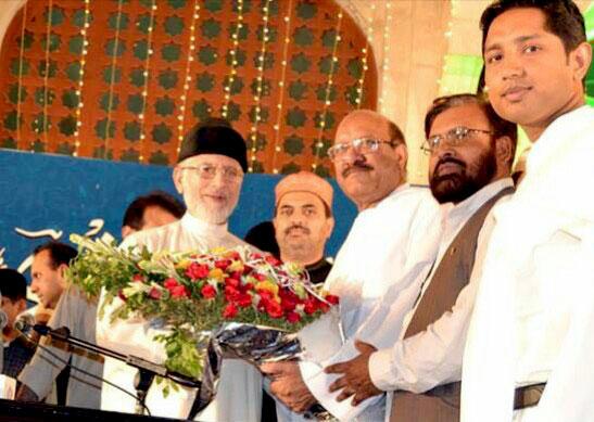 Christian leader calls on Dr Tahir-ul-Qadri
