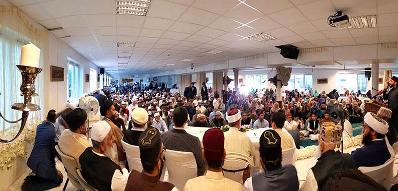 Norway: Dr Tahir-ul-Qadri address conference in Oslo