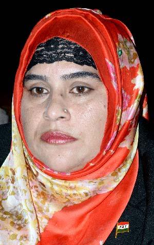 مادر ملت پاکستان کی خواتین کیلئے رول ماڈل ہیں: فرحت دلبراعوان