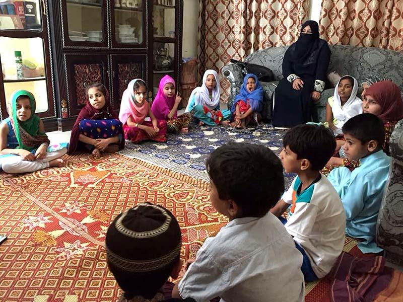 جہلم: منہاج القرآن ویمن لیگ کے زیراہتمام ایگرز سمر کیمپ