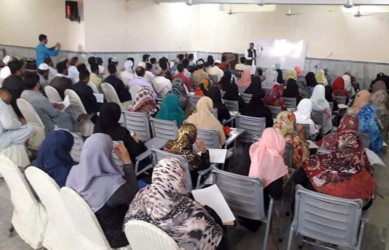 جہلم: منہاج القرآن ویمن لیگ کے زیراہتمام عرفان القرآن کورس برائے معلمات