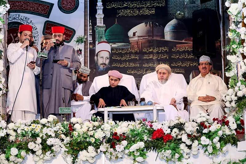 27th death anniversary of Sayyiduna Tahir Allauddin al-Qadri al-Gillani (R.A) observed