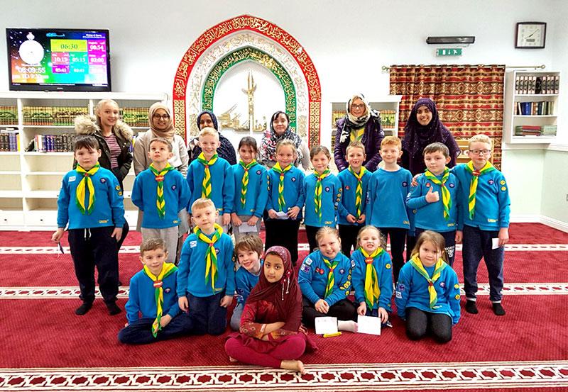 Scout group visits MQI Centre Glasgow