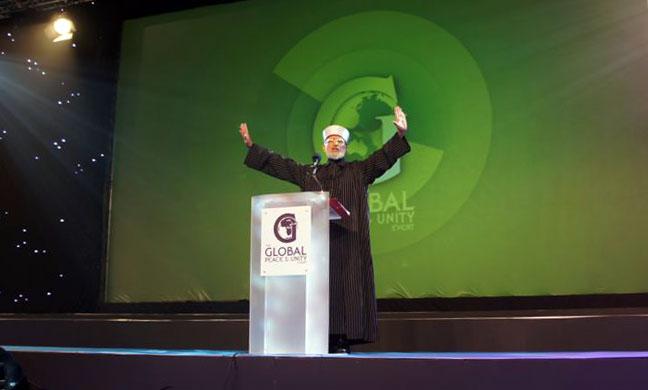 Dr Muhammad Tahir ul Qadri @ The Global Peace And Unity Event GPU 2013