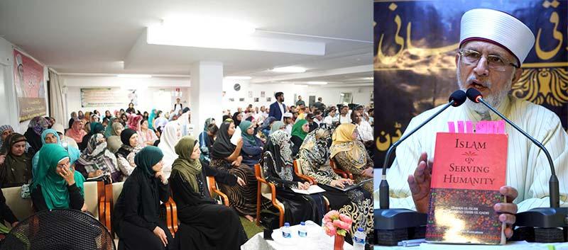 سویڈن: اسلام زندگی میں اعتدال و توازن کا درس دیتا ہے: شیخ الاسلام ڈاکٹر محمد طاہرالقادری کا مالمو میں خطاب
