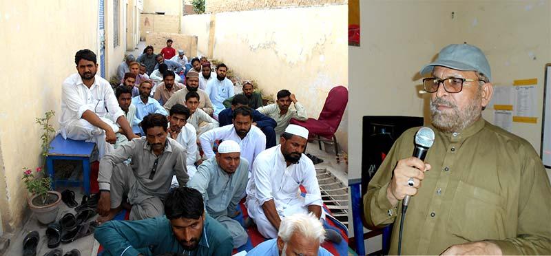 گڑھا موڑ: تحریک منہاج القرآن کے کنونشن سے سردار شاکر خان مزاری کا خطاب