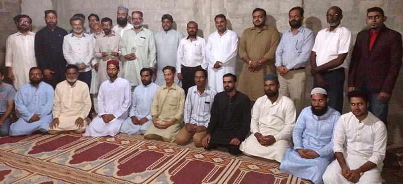 عوامی تحریک کراچی کے قائدین کا دورہ ملیر اور اجلاس