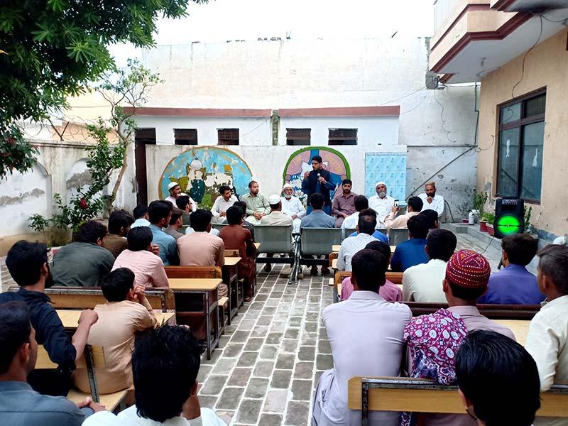 مرکزی ڈپٹی سیکرٹری جنرل محمد انعام مصطفوی کا تنظیمی دورہ اٹک