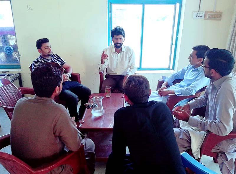 ایم ایس ایم یونٹ ملتان خورد تلہ گنگ (چکوال) کا مشاورتی اجلاس