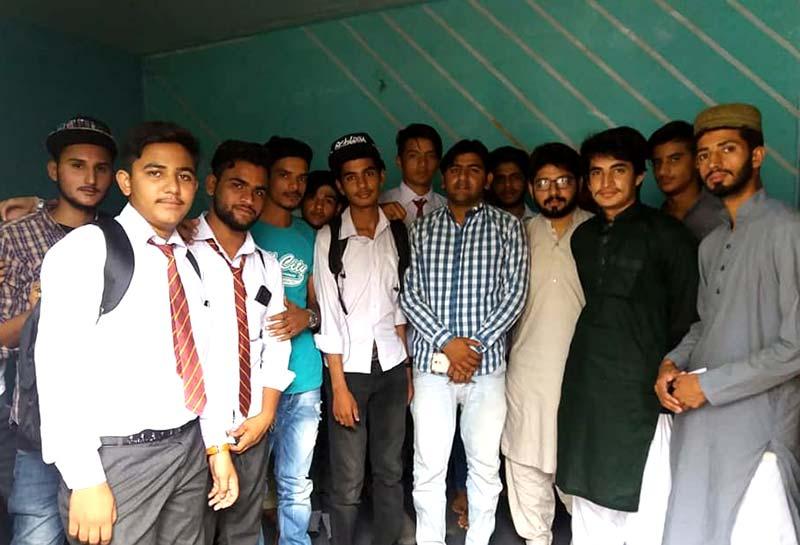 مصطفوی سٹوڈنٹس موومنٹ گورنمنٹ کالج ٹاون شپ لاہور کی تنظیم سازی