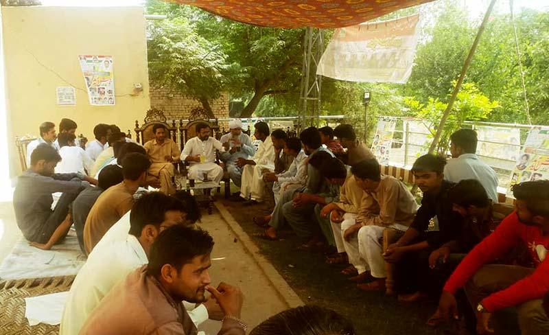 ایم ایس ایم فیصل آباد پی پی 64 کا ماہانہ اجلاس