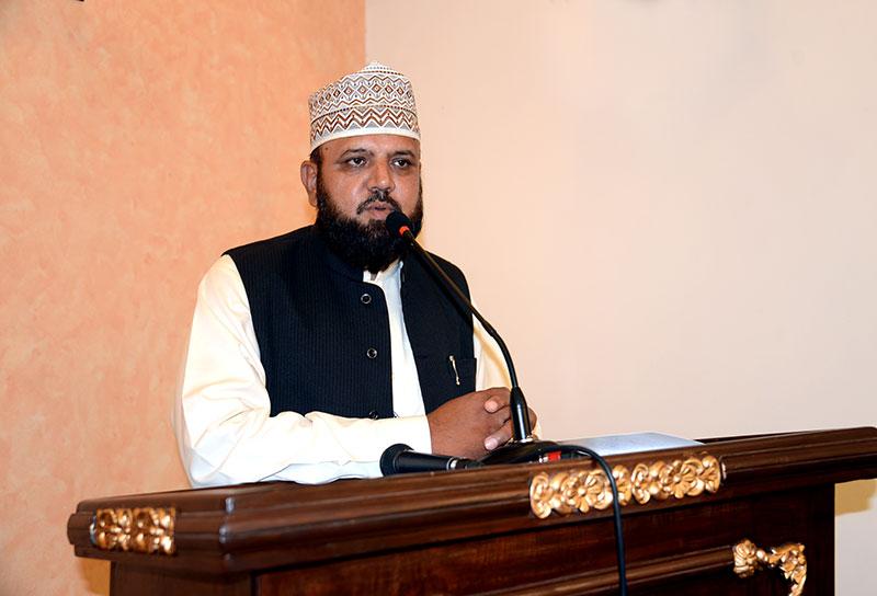 حسینیت عدل وانصاف کے پیغام کا نام ہے: علامہ سید فرحت حسین شاہ