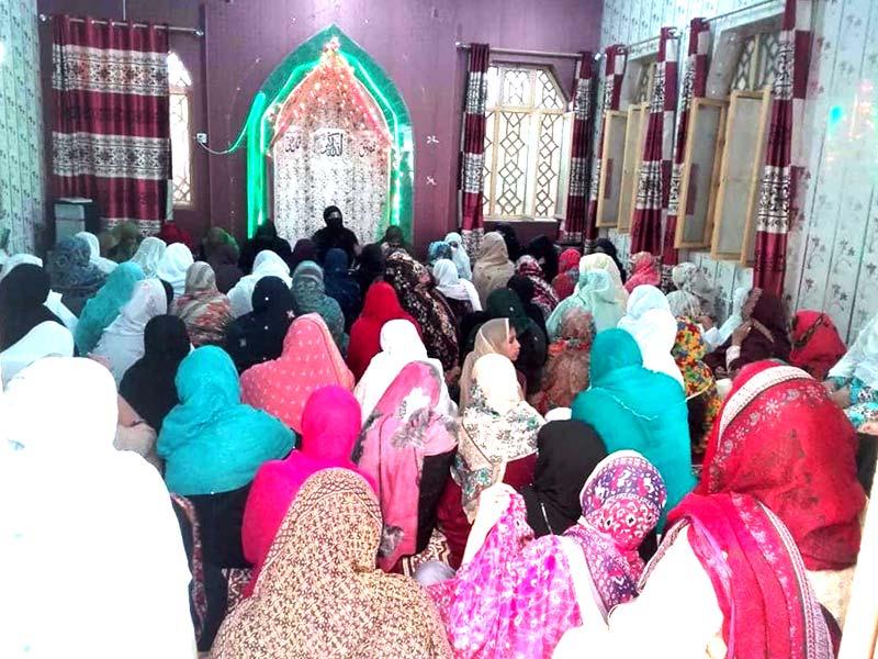 منہاج القرآن ویمن لیگ کے زیراہتمام جہلم میں محافل ''ذکر اہل بیت'' کا انعقاد