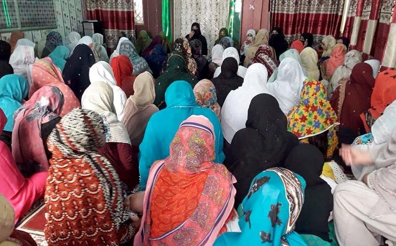 جہلم: کوٹلہ فقیر سعیلہ میں 10 مقامات پر محافل ''ذکر اہل بیت''