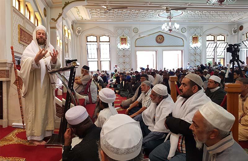 منہاج القرآن انٹرنیشنل ساؤتھ افریقہ کے عہدیداران کا گرے سٹریٹ مسجد کا وزٹ