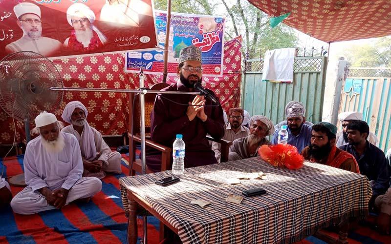 راجن پور: تحریک منہاج القرآن پی پی حلقہ 296 اے میں ماہانہ درس عرفان القرآن