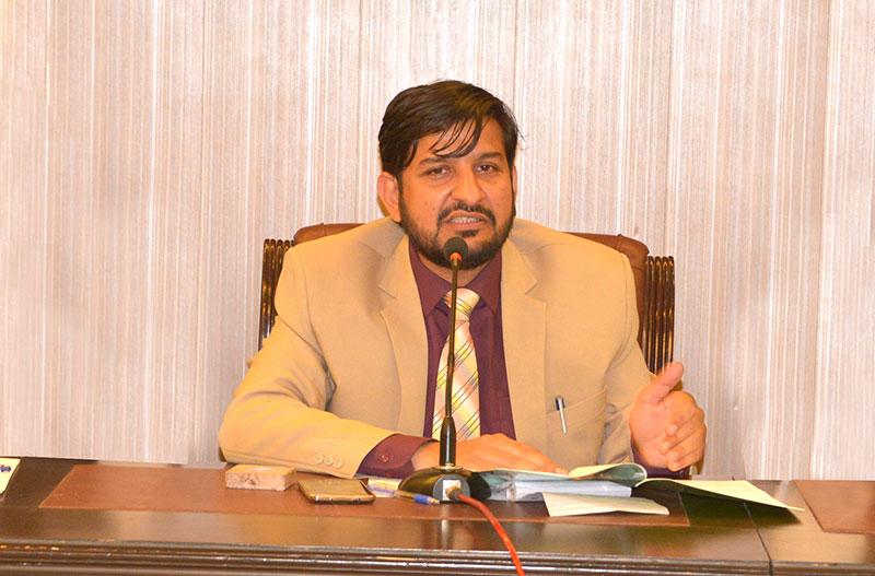 ڈاکٹر طاہرالقادری نے نوجوانوں کو ہمیشہ ادب و امن سکھایا: مظہر علوی