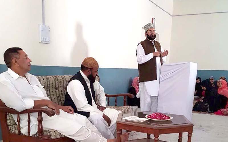 جہلم: کالا گوجراں میں 40 روزہ عرفان القران کورس کی  افتتاحی تقریب