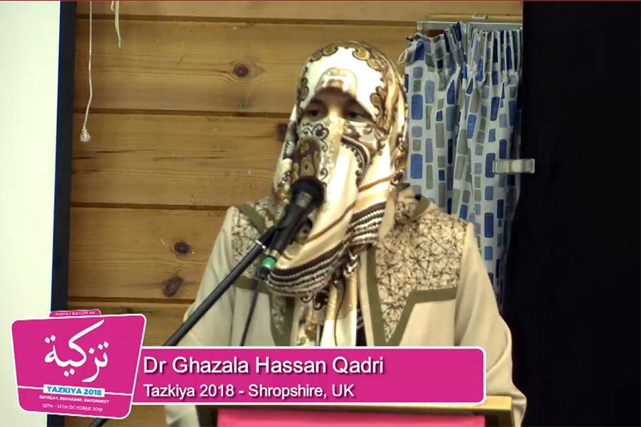 UK: Dr Ghazala Hassan Qadri addresses Tazkiya Camp 2018 [Lecture 3]