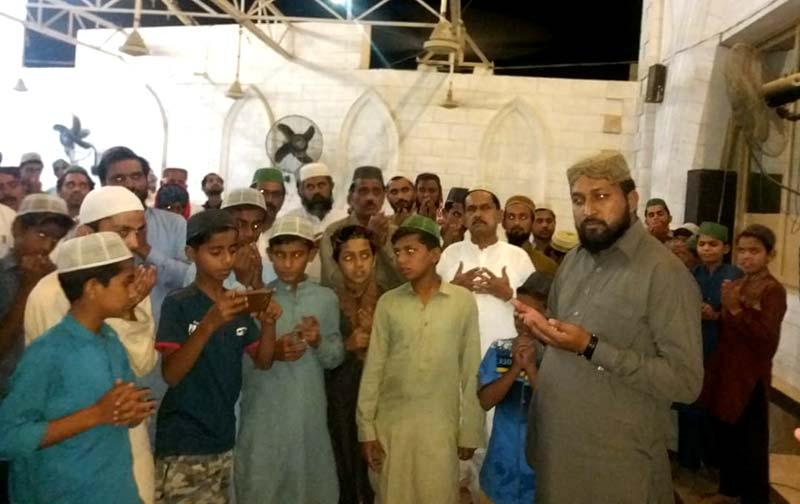 تحریک منہاج القرآن دادو کے زیراہتمام درس قرآن