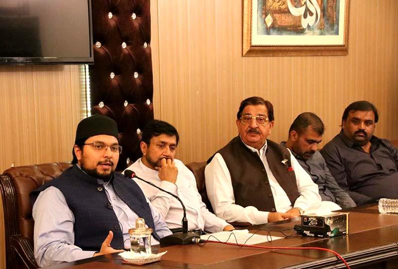 تحریک منہاج القرآن شعبہ پبلک ریلیشنز کے زیراہتمام تاجر برادری کے اعزاز میں عشائیہ