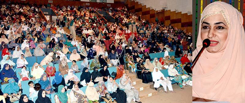 ملتان: منہاج القرآن ویمن لیگ کے زیراہتمام دسویں سالانہ سیدہ زینب کانفرنس