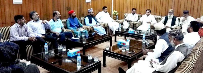 منہاج القرآن لاہور کی ایگزیکٹو کونسل کا اجلاس، ضلعی رہنماؤں کی شرکت