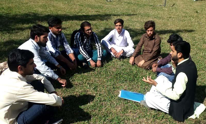 ایم ایس ایم یونیورسٹی آف آزاد کشمیر جہلم کیمپس کی تنظیم سازی