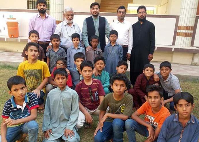 کراچی: منہاج یوتھ لیگ کے صدر مظہر محمود علوی کا آغوش کا وزٹ