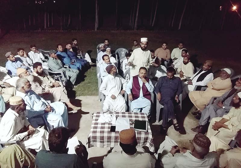 تحریک منہاج القرآن حافظ آباد پی پی 70 کا اجلاس