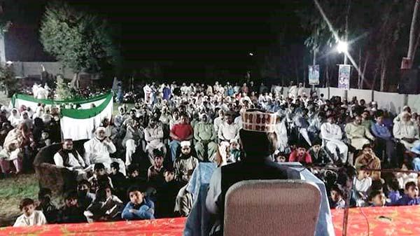 حافظ آباد: تحریک منہاج القرآن کے زیراہتمام درس عرفان القرآن