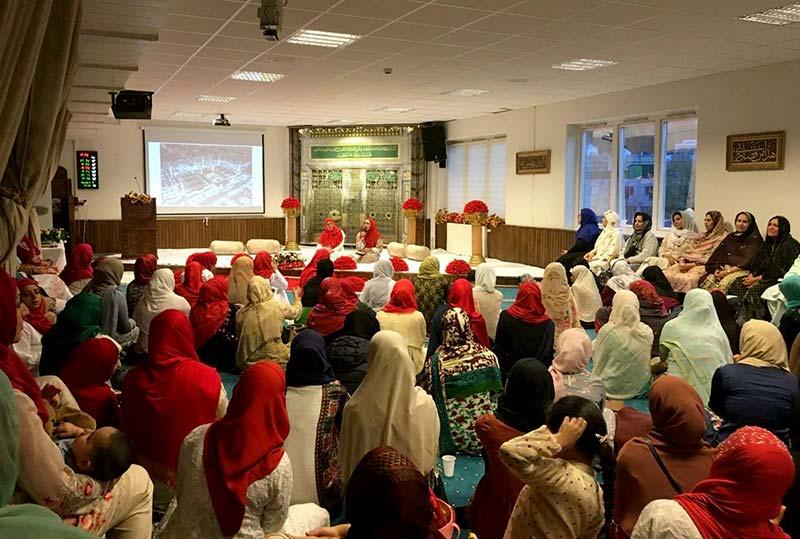 اوسلو: منہاج حلقہ درود (خواتین) ناروے کے زیراہتمام محفل میلاد النبی ﷺ کا انعقاد