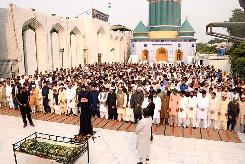 ڈاکٹر طاہرالقادری کا منہاج القرآن کے دیرینہ رفیق حافظ عبد الرؤف کے انتقال پر اظہار تعزیت