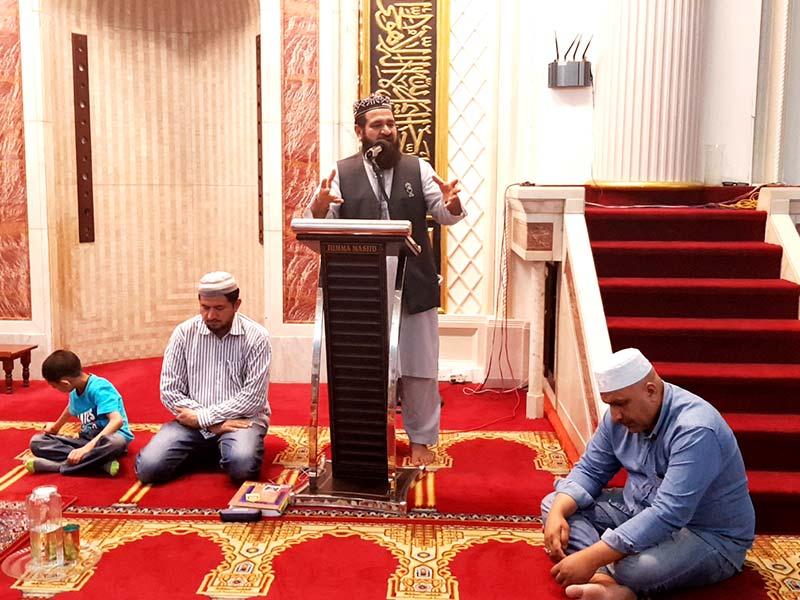 منہاج القرآن انٹرنیشنل نٹال کا 105 واں ماہانہ حلقۂ درود و درس عرفان القرآن