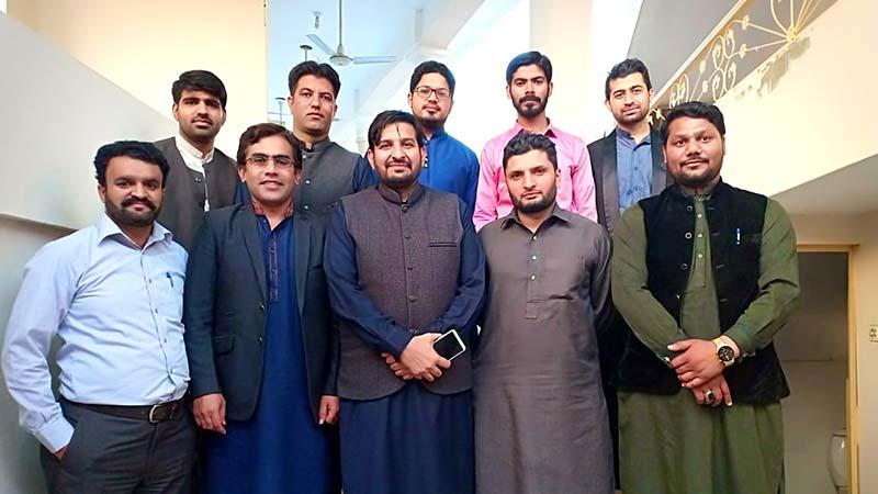 منہاج یوتھ لیگ جہلم کی ''ڈسٹرکٹ یوتھ اسمبلی'' کا اجلاس