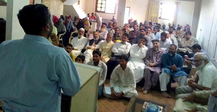 منہاج یوتھ لیگ کراچی کا اجلاس