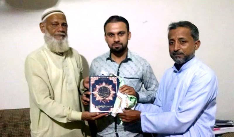 کراچی: صدر منہاج القرآن نارتھ ناظم آباد سید ذاکر علی کی ماہر تعلیم محمد عثمان سے ملاقات