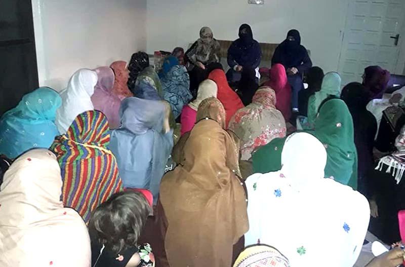 جہلم: منہاج القرآن ویمن لیگ کی قائدین کا پنجاب کالج آف ٹیکنالوجی جادہ کا وزٹ
