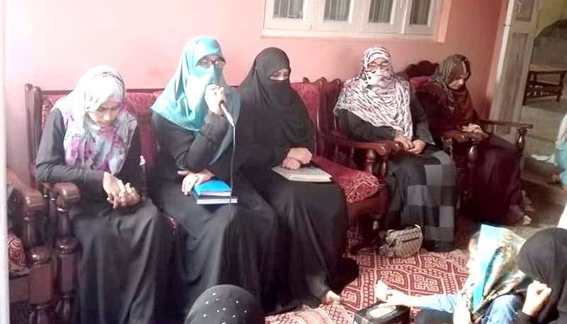 جہلم: منہاج القرآن ویمن لیگ کے 40 روزہ عرفان القرآن کورس کا افتتاح