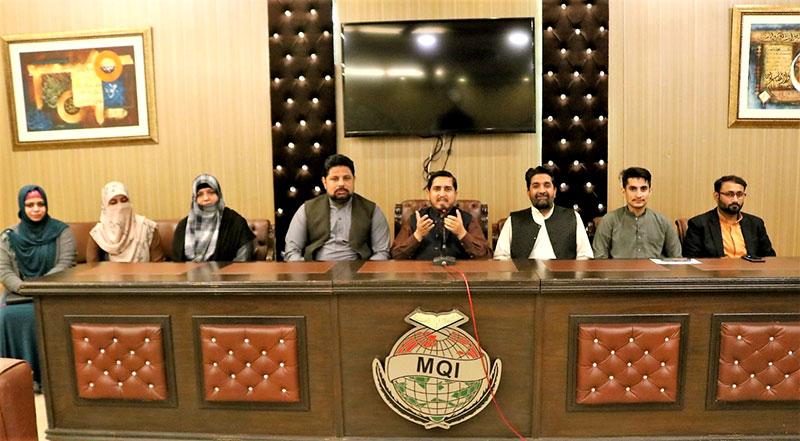 منہاج القرآن لاہور کا اجلاس، ضلعی رہنماؤں، پی پی صدور و ناظمین کی شرکت