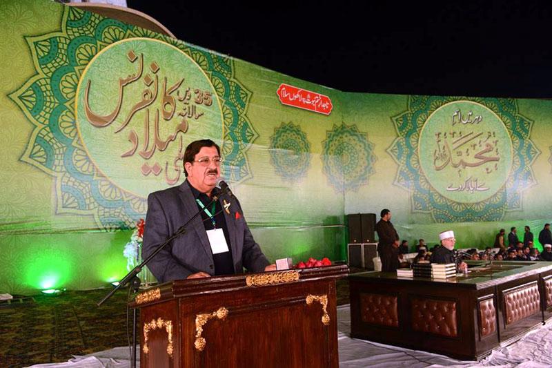 منہاج القرآن کی عالمی میلاد کانفرنس میں 50 ہزار سے زائد افراد شریک ہوئے: خرم نواز گنڈاپور