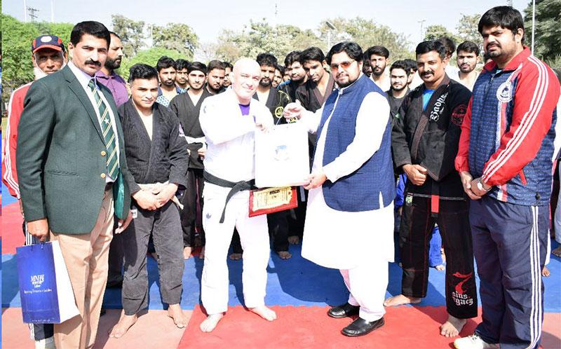 Dr Hussain Mohi-ud-Din Qadri inaugurates Jiu-Jitsu camp