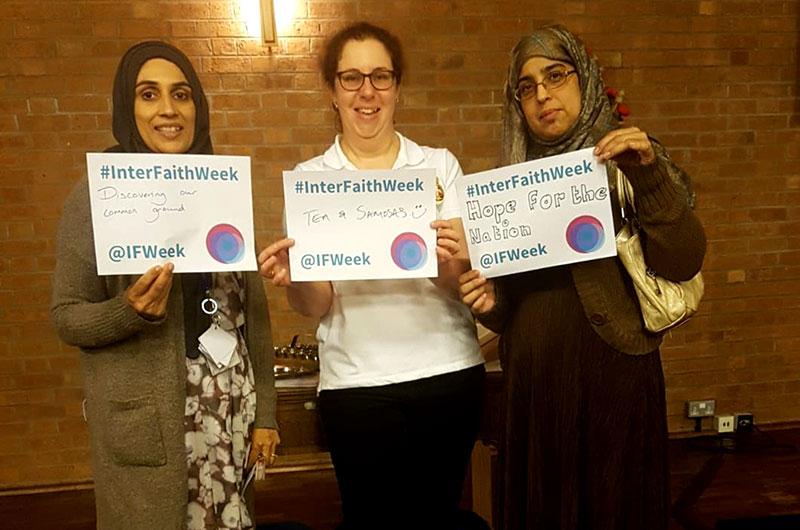Minhaj Sisters (Midlands) partake in Interfaith Week