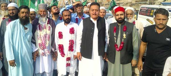 تحریک منہاج القرآن کراچی کے زیراہتمام میلاد مارچ