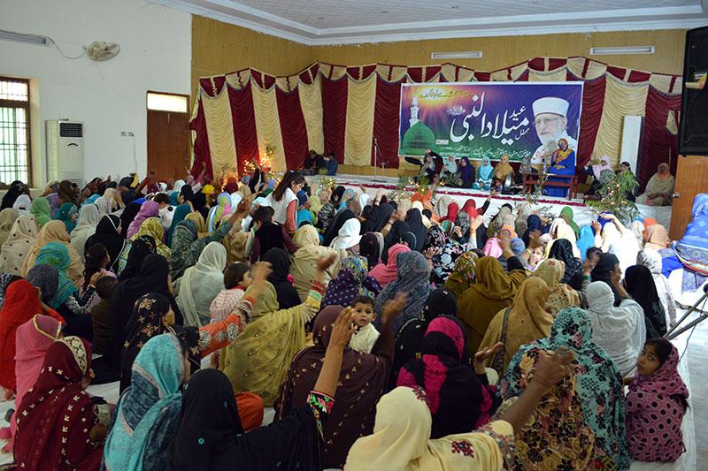 لودھراں: منہاج القرآن ویمن لیگ کے زیراہتمام محفل میلاد