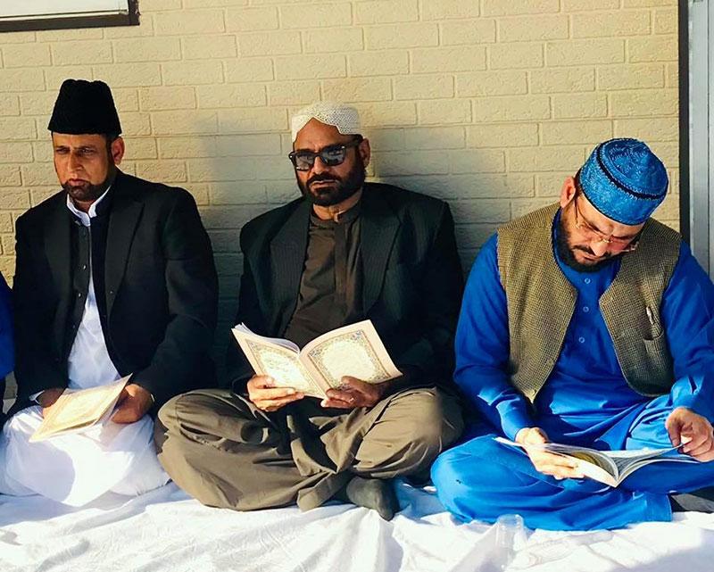 چودھری عابد گجر مرحوم کی روح کے ایصال ثواب کیلئے قرآن خوانی و محفل میلاد پاک