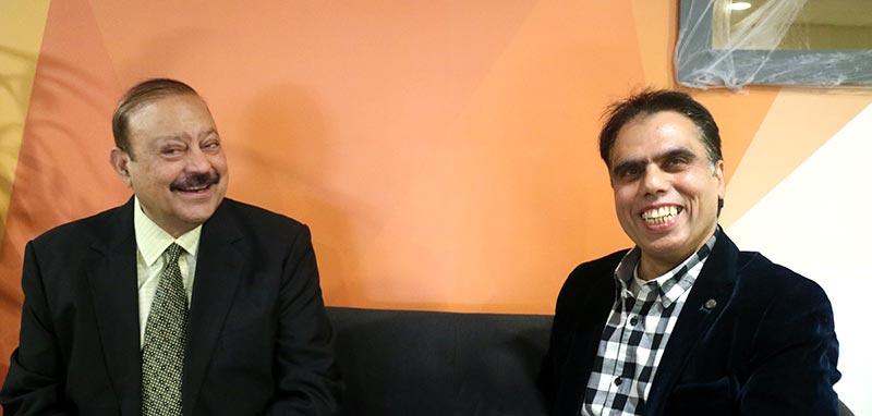 صدر منہاج القرآن آئرلینڈ وسیم بٹ کی سابق وزیراعظم آزادکشمیر بیرسٹر سلطان محمود چوہدری سے خصوصی ملاقات