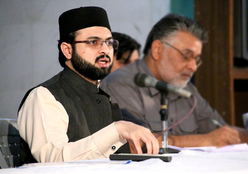 منہاج یوتھ لیگ کے نوجوانوں نے کبھی قانون ہاتھ میں نہیں لیا: ڈاکٹر حسن محی الدین