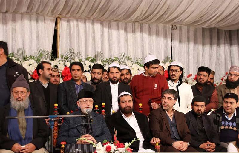 پیر سید ارشاد حسین شاہ کے 21 ویں سالانہ عرس پر شیخ الاسلام ڈاکٹر محمد طاہرالقادری کا خطاب